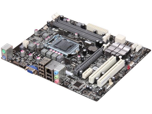 ECS H61H2-M3(1.0) Micro ATX Intel Motherboard