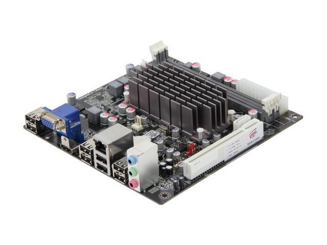 ECS HDC-I2(1.0) AMD E-350 APU (1.6GHz, Dual-Core) AMD Hudson D1 Mini ITX Motherboard/CPU Combo