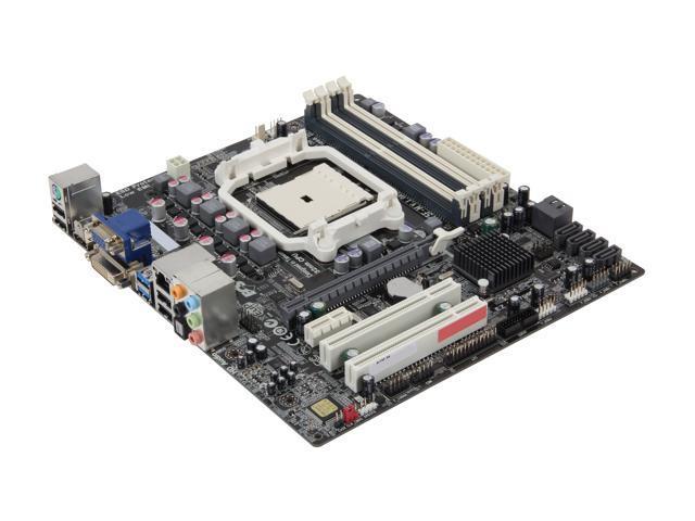 ECS A75F-M FM1 AMD A75 (Hudson D3) SATA 6Gb/s USB 3.0 HDMI Micro ATX AMD Motherboard