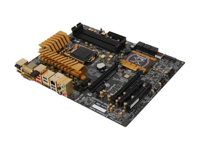 ECS Golden Z77H2-A2X(1.0) LGA 1155 Intel Z77 HDMI SATA 6Gb/s USB 3.0 ATX Intel Motherboard