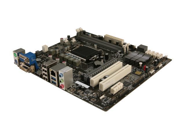 ECS H77H2-M3(1.0) LGA 1155 Intel H77 HDMI SATA 6Gb/s USB 3.0 Micro ATX Intel Motherboard