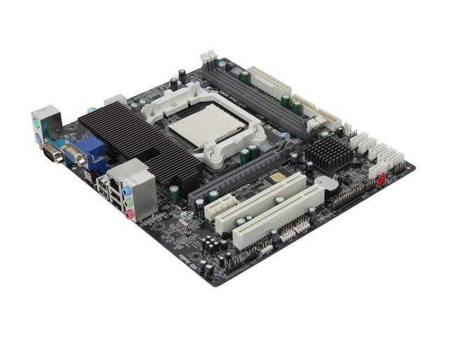 ECS A960M-M2 AM3+ AMD 760G + SB710 HDMI Micro ATX AMD Motherboard