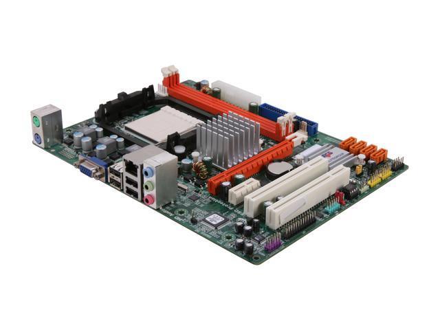 ECS A780LM-M2 AM3 AMD 760G + SB710 Micro ATX AMD Motherboard