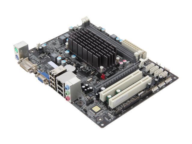ECS HDC-M/C-60 (v2.0) AMD Fusion APU C-60 (1.0 GHz, dual core) Micro ATX Motherboard/CPU Combo