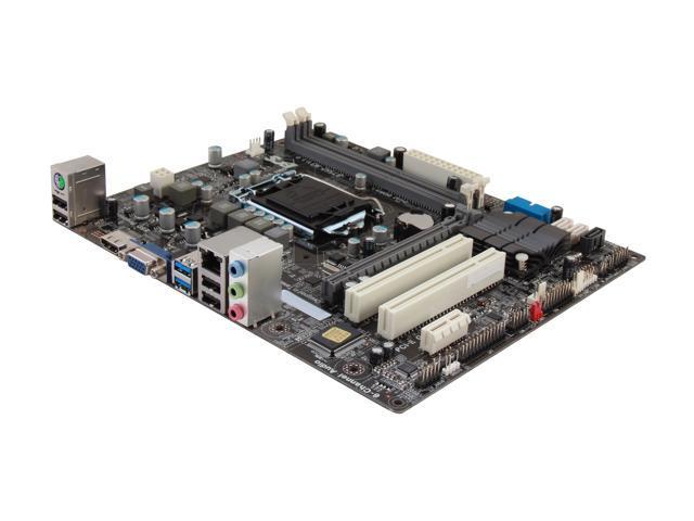 ECS B75H2-M3(1.0) LGA 1155 Intel B75 HDMI SATA 6Gb/s USB 3.0 Micro ATX Intel Motherboard