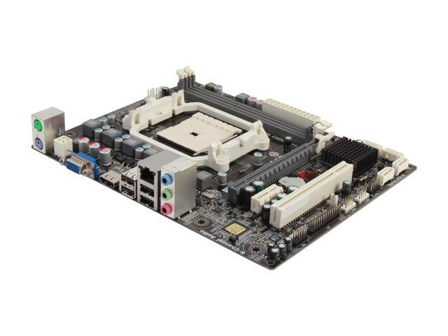 ECS A55F-M4(1.0) FM1 AMD A55 (Hudson D2) HDMI Micro ATX AMD Motherboard