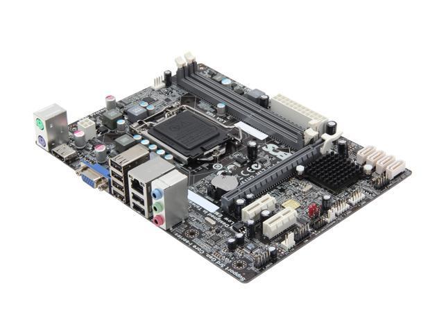 ECS H61H2-M17(v1.0) LGA 1155 Intel H61 HDMI Micro ATX Intel Motherboard