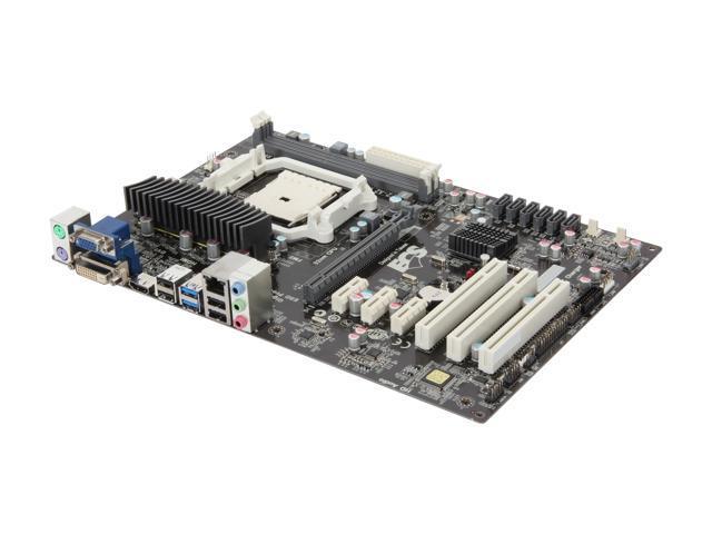ECS A75F2-A2(1.0) FM2 AMD A75 (Hudson D3) SATA 6Gb/s USB 3.0 HDMI ATX AMD Motherboard