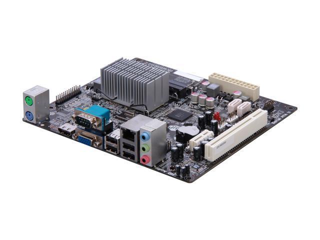 ECS CDC-M/D2550(1.0) Intel Atom D2550 Intel NM10 Micro ATX Motherboard/CPU/VGA Combo