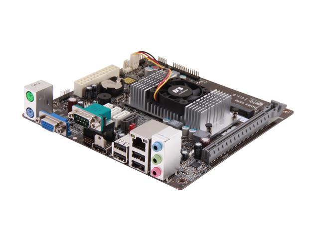 ECS NM70-I v1.0 Intel Celeron 1037U 1.80GHz BGA1023 Intel NM70 Mini ITX Motherboard/CPU Combo