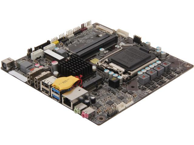 ECS H61H2-TI LGA 1155 Intel H61 HDMI USB 3.0 Mini ITX Intel Motherboard