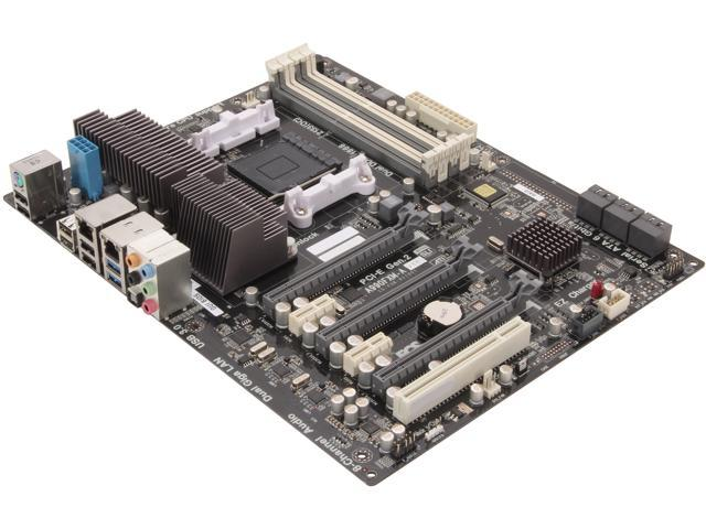 ECS A990FXM-A AM3+ AMD 990FX + SB950 SATA 6Gb/s USB 3.0 ATX AMD Motherboard