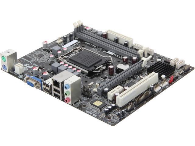 ECS H61H2-M13 (V2.0) LGA 1155 Intel H61 Micro ATX Intel Motherboard