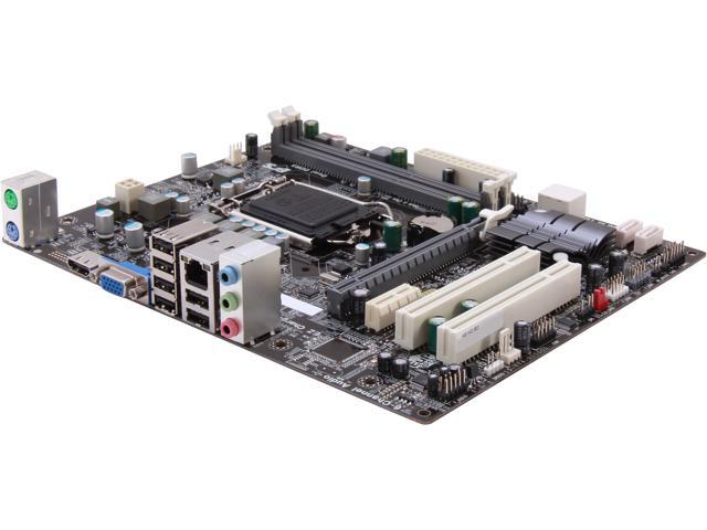 ECS H61H2-M3 (V2.0) Micro ATX Intel Motherboard