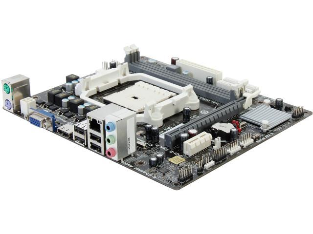 ECS A55F2-M4(1.0) FM2 AMD A55 (Hudson D2) Micro ATX AMD Motherboard