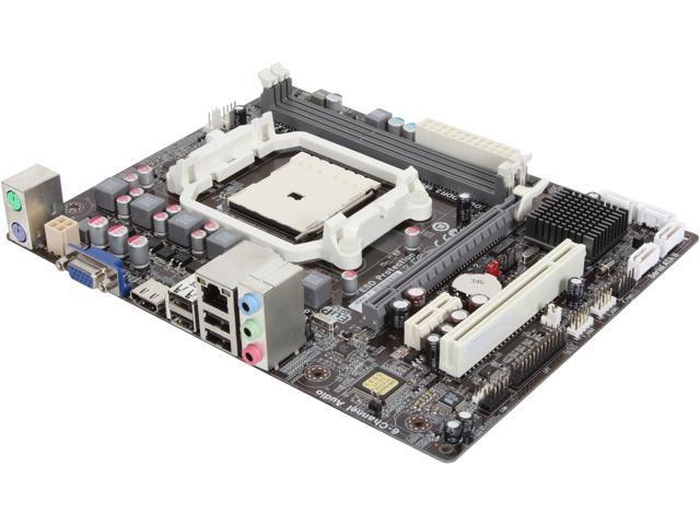 ECS A55F-M4 (V2.0) FM1 AMD A55 (Hudson D2) HDMI Micro ATX AMD Motherboard
