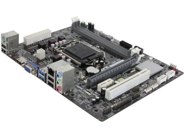 ECS B75H2-M4(V1.0) LGA 1155 Intel B75 HDMI SATA 6Gb/s USB 3.0 Micro ATX Intel Motherboard