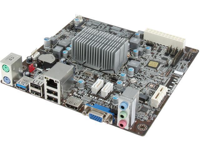 ECS BAT-I(1.0)/J1900 Intel Bay Trail J1900 Mini ITX Motherboard/CPU/VGA Combo