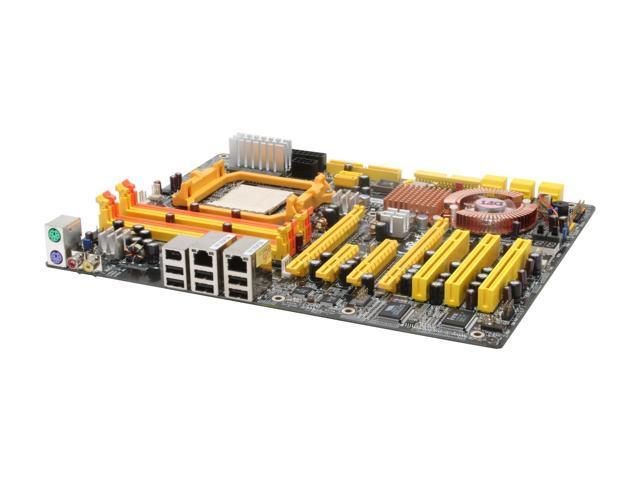 DFI LANPARTY UT NF590 SLI-M2R/G ATX AMD Motherboard