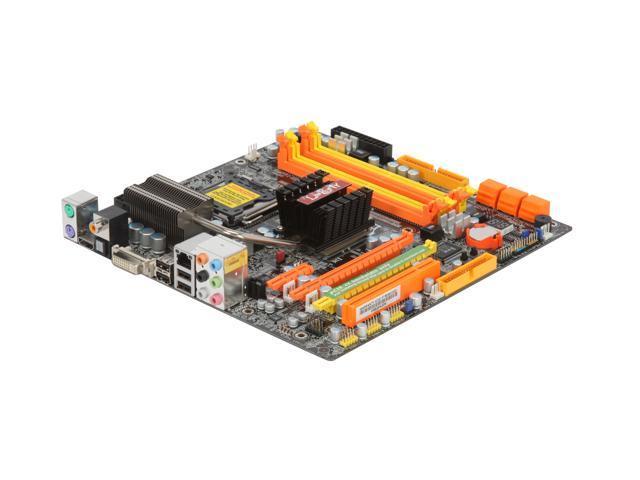 DFI LP JR GF9400-T2RS LGA 775 NVIDIA GeForce 9400 HDMI Micro ATX Intel Motherboard