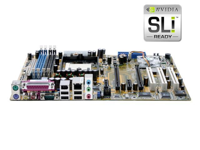 DFI nF4 SLI Infinity 939 NVIDIA nForce4 SLI ATX AMD Motherboard