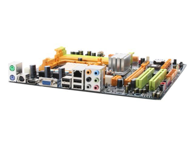 BIOSTAR TForce TF7050-M2 AM2 NVIDIA GeForce 7050PV HDMI Micro ATX AMD Motherboard