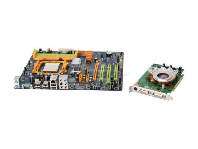 BIOSTAR TF560ComVGA2 ATX Motherboard/VGA Combo