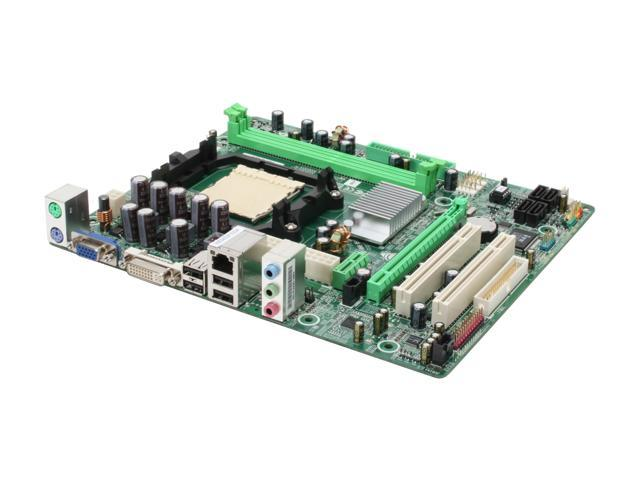 BIOSTAR GF7025-M2 AM2 NVIDIA GeForce 7025 Micro ATX AMD Motherboard