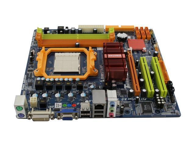 BIOSTAR TA785GE 128M Micro ATX AMD Motherboard