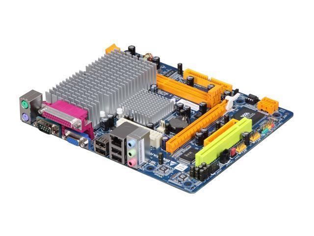 BIOSTAR Viotech 3100+ VIA C7-D 1.6 GHz VIA NanoBGA2 VIA CN896 Micro ATX Motherboard/CPU Combo