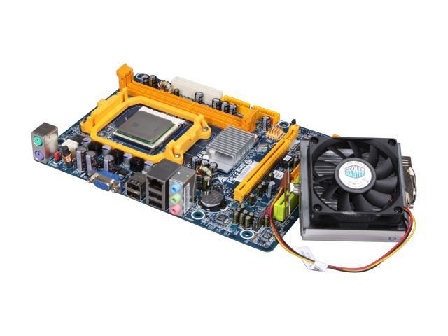 BIOSTAR COMBO6B13 AMD Sempron 1300+ AM3/AM2+/AM2 NVIDIA GeForce 6150 Micro ATX Motherboard/CPU Combo