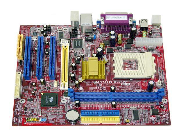 BIOSTAR M7VIG-PRO-D 462(A) VIA KM266 Micro ATX AMD Motherboard