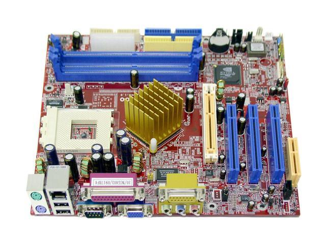 BIOSTAR M7NCG 400 462(A) NVIDIA nForce2 IGP Micro ATX AMD Motherboard