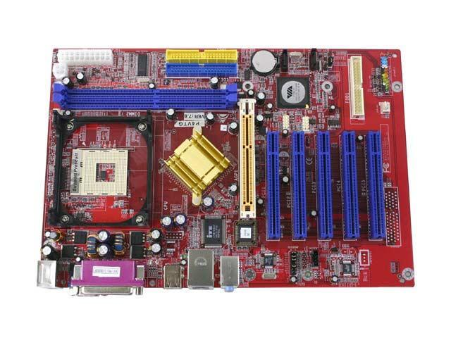BIOSTAR P4VTG 478 VIA PT800 ATX Intel Motherboard