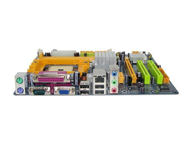 BIOSTAR TForce6100 754 NVIDIA GeForce 6100 Micro ATX AMD Motherboard