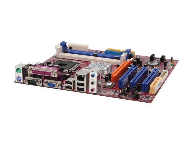 BIOSTAR P4M80P-M7C LGA 775 VIA P4M800 PRO Micro ATX Intel Motherboard