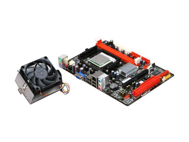 BIOSTAR COMBO6S1250 AMD Sempron LE-1250 @ 2.2GHz AM2+ NVIDIA GeForce 7025 Micro ATX Motherboard/CPU Combo