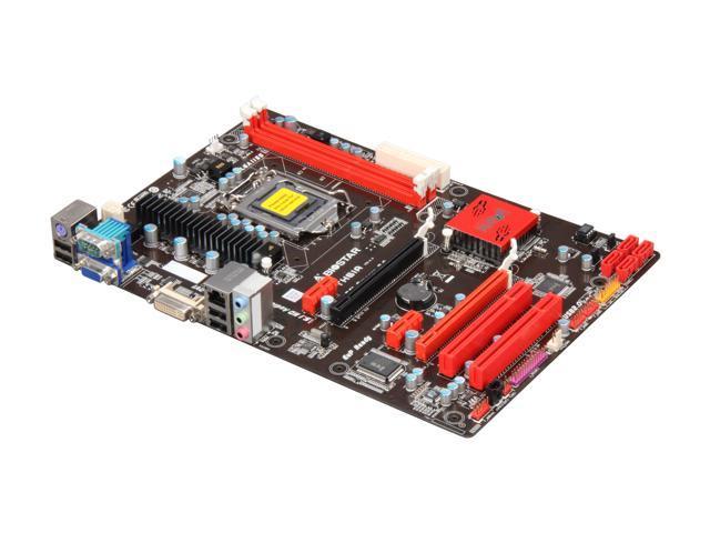 BIOSTAR TH61A LGA 1155 Intel H61 ATX Intel Motherboard