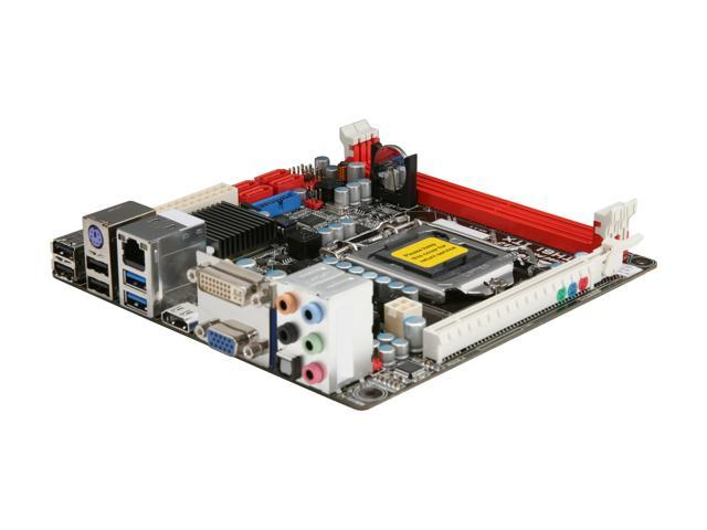 BIOSTAR TH61 ITX LGA 1155 Intel H61 HDMI USB 3.0 Mini ITX Intel Motherboard with UEFI BIOS