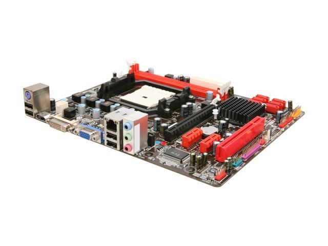 BIOSTAR A55MH FM1 AMD A55 (Hudson D2) HDMI Micro ATX AMD Motherboard