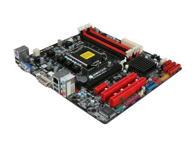 BIOSTAR B75MU3+ LGA 1155 Intel B75 HDMI SATA 6Gb/s USB 3.0 Micro ATX Intel Motherboard
