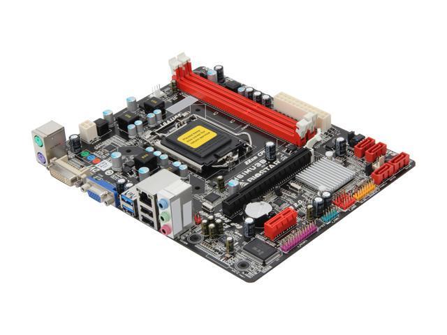 BIOSTAR H61MU3B LGA 1155 Intel H61 USB 3.0 Micro ATX Intel Motherboard