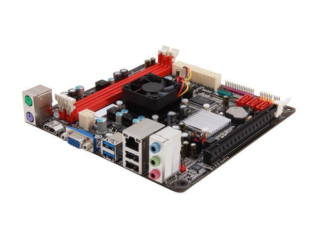 BIOSTAR A68I-350 Deluxe R2.0 AMD Fusion APU 350D AMD A68 Mini ITX Motherboard/CPU Combo