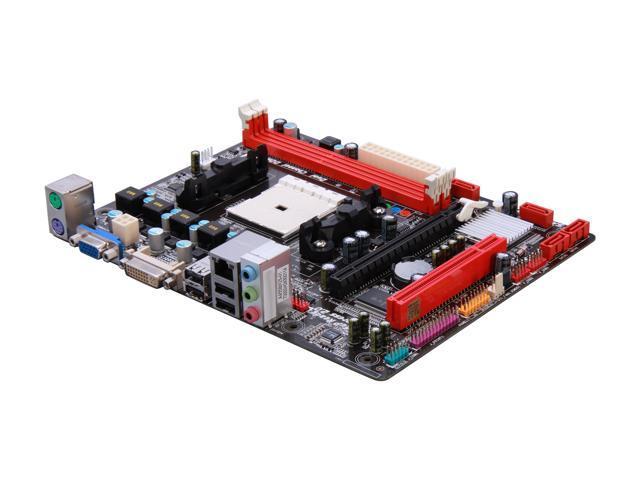 BIOSTAR AMD A55MD2 Ver. 7.0 (Hudson D2) Micro ATX AMD Motherboard