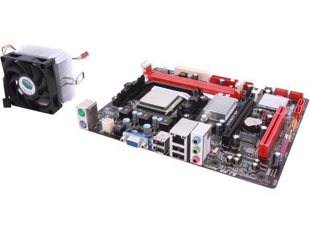 BIOSTAR COMBOA7L3C AMD Sempron 130 2.6GHz AMD 760G Micro ATX Motherboard/CPU/VGA Combo