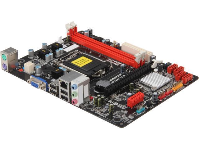 BIOSTAR H61MLV2 LGA 1155 Intel H61 Micro ATX Intel Motherboard