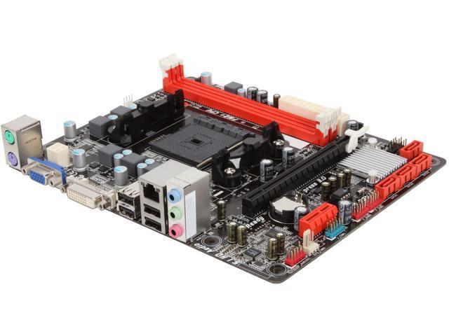 BIOSTAR A58MD FM2+ / FM2 AMD A55 (Hudson D2) Micro ATX AMD Motherboard