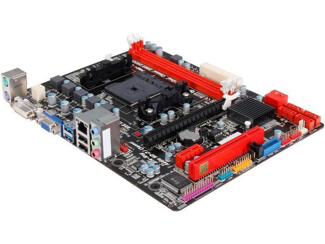 BIOSTAR A88M FM2+ / FM2 AMD A88X (Bolton D4) SATA 6Gb/s USB 3.0 Micro ATX AMD Motherboard