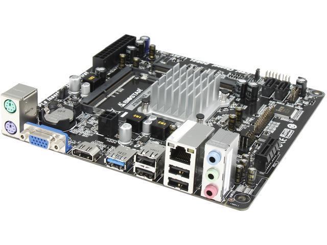 BIOSTAR J1800NH2 Intel Celeron Dual-Core J1800 Mini ITX Motherboard/CPU/VGA Combo