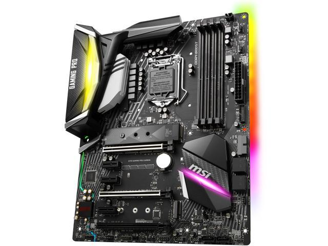 MSI Z370 GAMING PRO CARBON LGA 1151 (300 Series) Intel